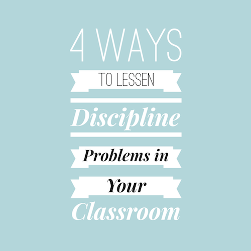 Classroom Discipline Problems