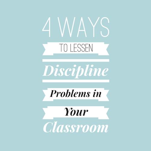 Classroom Discipline Problems