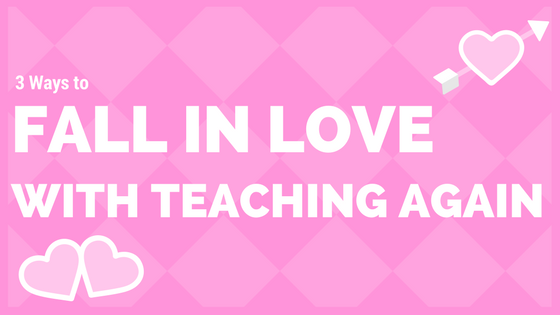 Love teaching again