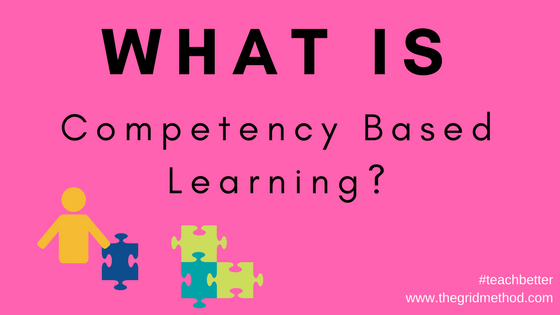 What is competency based learning