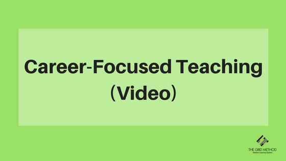 Career Focused Teaching - Video