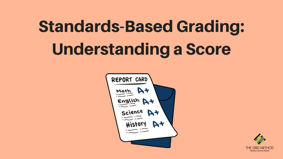 Standards-Based Grading _ Understanding a Score