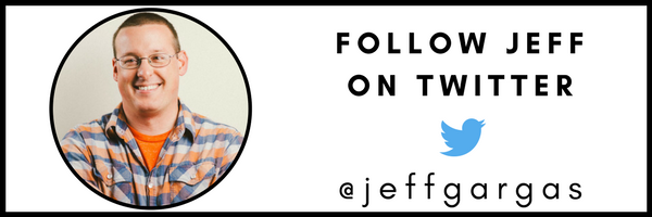 FOLLOW JEFF GARGAS ON TWITTER