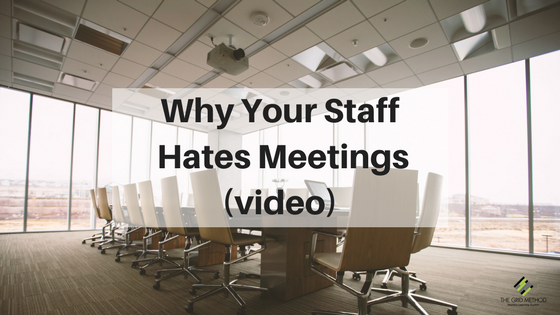 Why Your Teachers Hate Meetings (video)