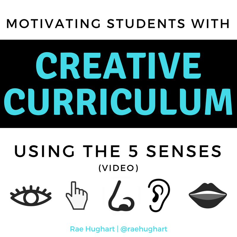 Motivating Students with Creative Curriculum Using the 5 Senses - Video
