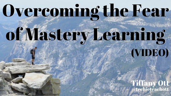 Overcoming the Fear of Mastery Learning - Video