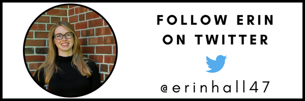 FOLLOW ERIN HALL ON TWITTER