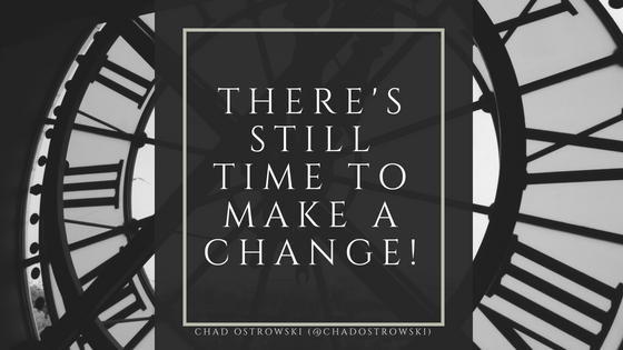 There's Still Time To Make Changes in Your Classroom