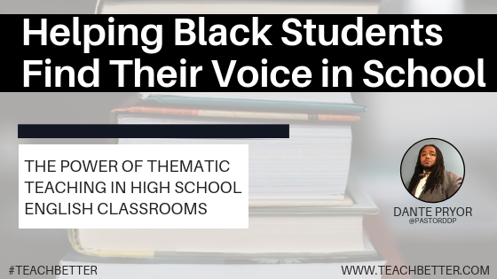 Helping Black Students Find Their Voice in School