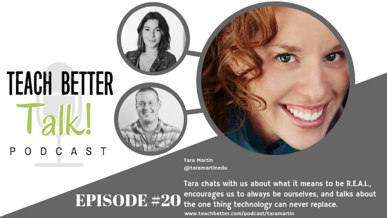 Listen to episode 20 of our podcast with Tara Martin.