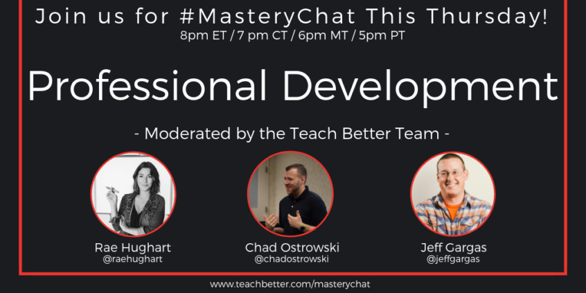 #MasteryChat 12-27-18