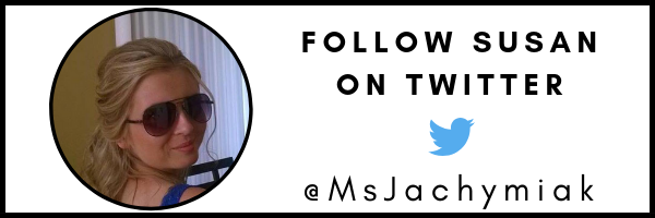 Follow Susan Jachymiak on Twitter