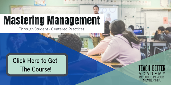 Master your classroom management with this online course.