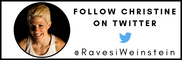 CLICK TO FOLLOW Christine Ravesi-Weinstein ON TWITTER