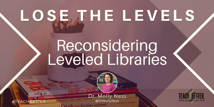 """Click here to read """"Lose The Levels - Reconsidering Leveled Libraries"""""""