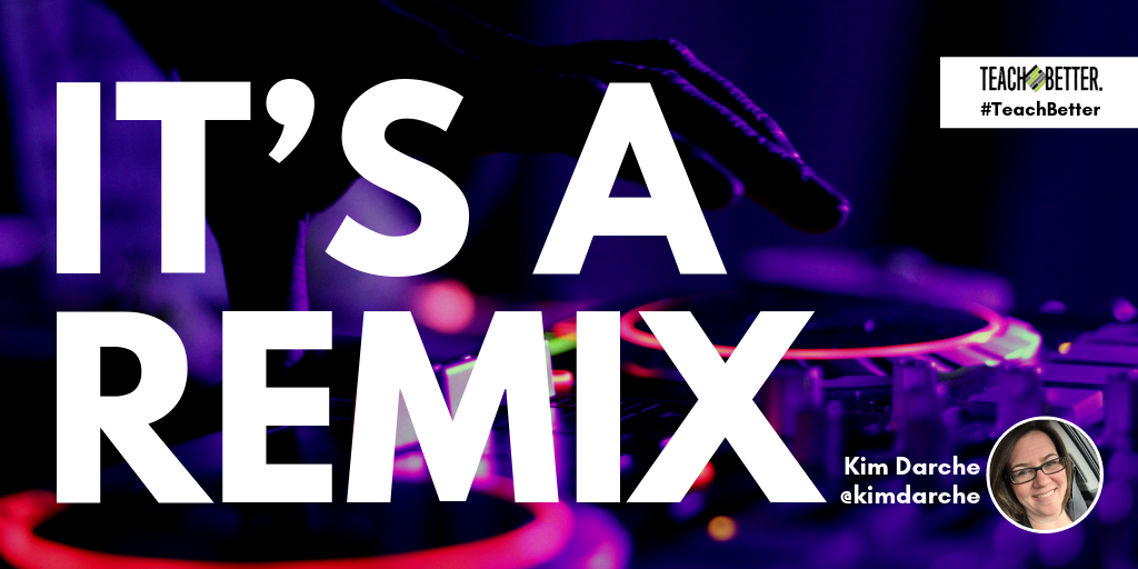 "Header image for blog post ""It's a Remix - Kim Darche"""