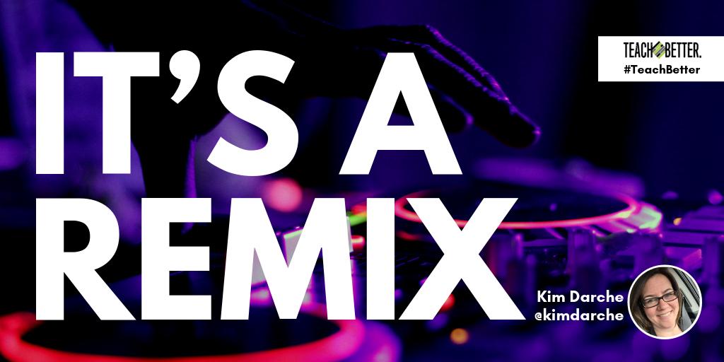 "Header image for blog post ""It's a Remix - Kim Darche"""