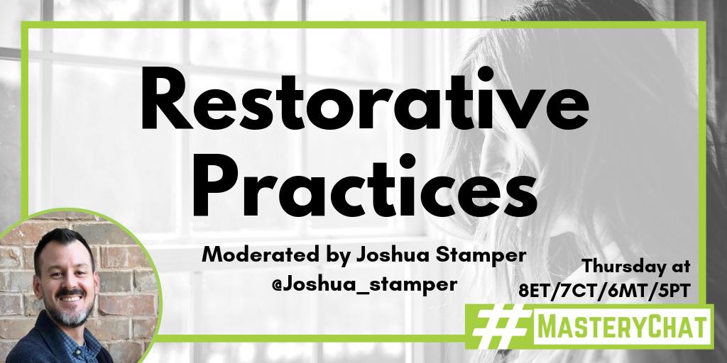 Masterychat restorative practices