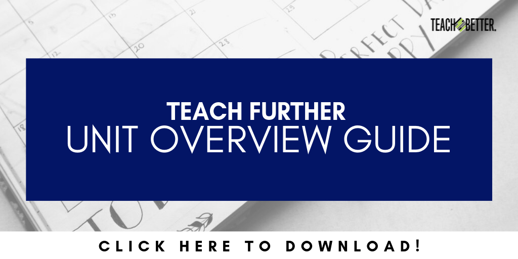 Teach Further Planning Guide