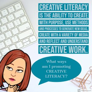 Definition for creative literacy