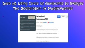 Circle of Viewpoints Thinking Routine on Flipgrid