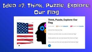 Think, Puzzle, Explore Thinking Routine on Flipgrid