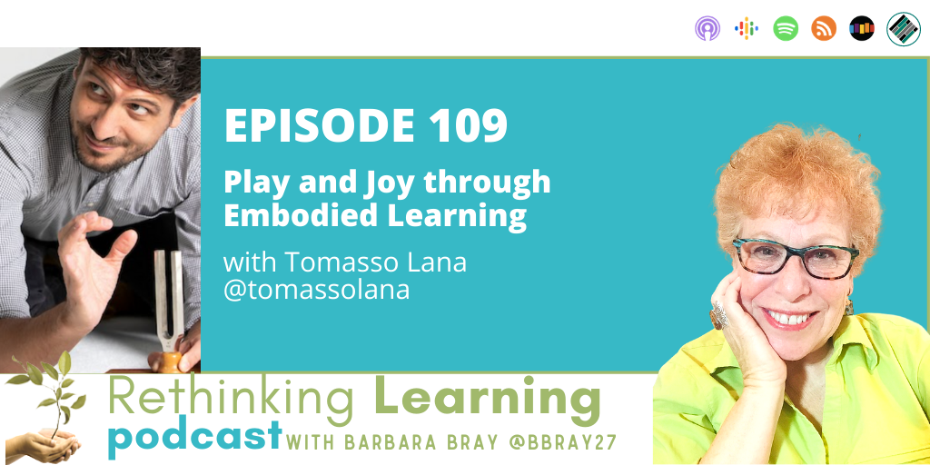 Rethinking Learning Podcast Episode 109 with Tommaso Lana