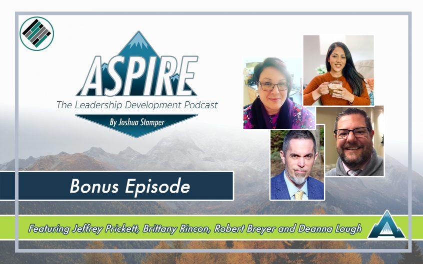 Joshua Stamper, Jeffrey Prickett, Brittany Rincon, Robert Breyer, Deanna Lough, Teach Better Podcast Network