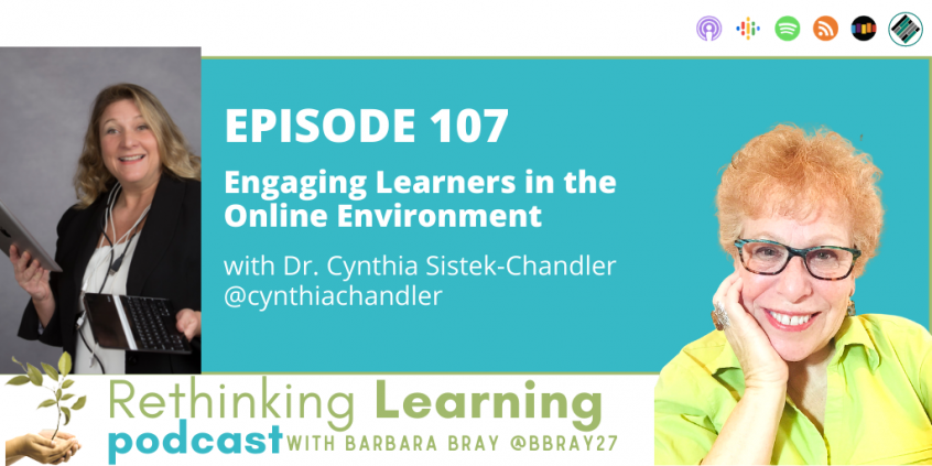 _Rethinking Learning Podcast Episode 107 with Dr. Cynthia Sistek-Chandler
