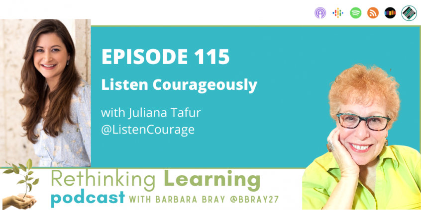 Episode #115: Listening Couragously with Juliana Tafur