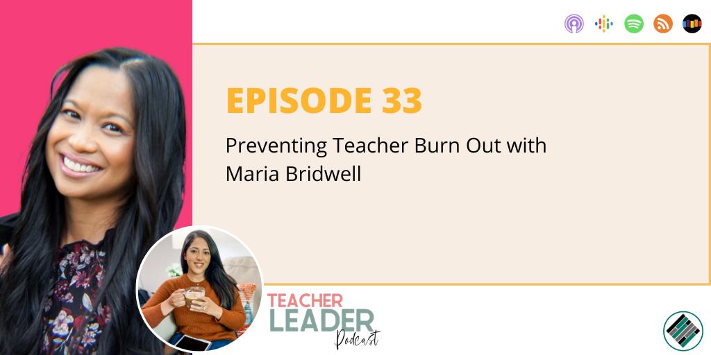 teacher leader podcast episode cover 33